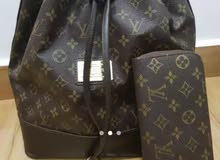 louis vuttion bag with wallet