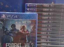 Resident Evil 2 جديدة غير مستعملة