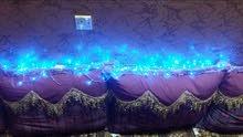 اضواء زينه للغرف او السياره او اي مكان. 10 متر  (ادخل حسابي و تمتع بأروع الاسعار
