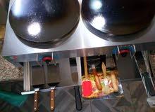 جهاز كريب غاز شعلتين