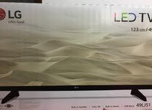 شاشة 49 LG  FHD LED جديدة بالكرتونة بسعرمغري