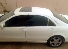 White Mercedes Benz S 500 2002 for sale