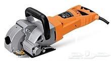 ماكينة حفر وتجويف الجدران لزوم تركيب مواسير السباكة وخراطيم الكهرباء قدرة 5200 وات