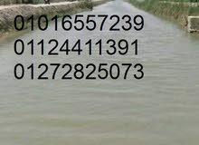 مزرعه 17فدان للبيع بها كل المرافق والخدمات سعر الفدان 25الف للاستفسار 01016557239