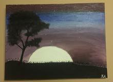 لوحه الليل الغامض