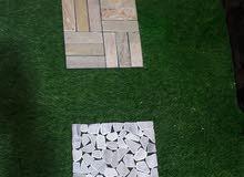 الان وصول اجمل انواع الممشى بالاحجار الطبيعية فقط لدى شركة الفخامة لبيع وتركيب