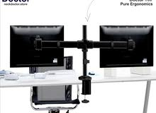 Ergonomic Dual computer monitor stand - NeckDoctor DUO
