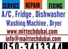 Ac Fridge Washer Dryer Dishwasher Repairing Works in Dubai