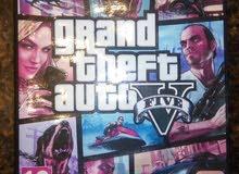 Gta V PS4 بحالة الوكالة مع خريطة