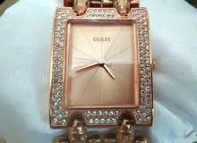 ساعة نسائي ماركة اصلي Guess جدييد