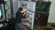 قسم خاص لصيانه جميع انواع الثلاجات والمكيفات والغسلات