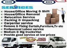 Moving/Shifting,Carpenter,Packing service at Qatar