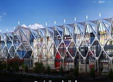 محل دور ارضي 110 متر ميدتاون مول احدث مشروعات العاصمة الادارية