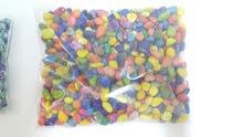 colourful aqarium gravel