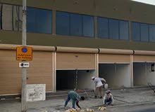 للايجار محلات تجارية على شارع 77 سند