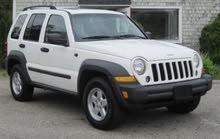 Jeep liberty 2007 white