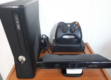 X Box 360 with Kinect and 1 controller for sale