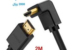 توصيلة HDMI 2M منحني