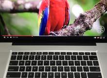 MacBook Pro i7  15 inches  500 gb storage  8 gb Ram