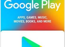 بطاقات جوجل بلاي 5 USD
