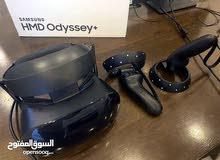 Samsung VR HMD + Odysse نظارات. VR