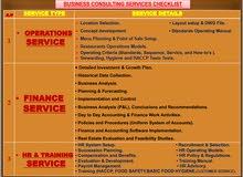 خدمات تأسيس وأستشارات لبراندات المطاعم والكافيهات والكاترينج FREELANCE