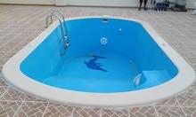 برك سباحة فيبر جلاس