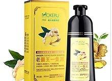 MOKERU Ginger King Herbal Black Hair Dyeing Shampoo 500ml