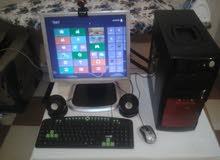 جهاز كمبيوتر كامل للبيع