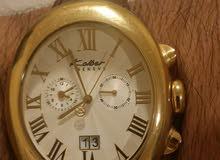 ساعة يد كيلبر نظيفة مستعمله فترات قليله قيمتها 1700 الف درهم