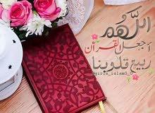 تحفيظ القران الكريم  مجانًا  وتدريس لغه عربيه  بأجر بسيط
