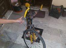 دراجه هواىية للبيع جنط 26 بحالة جيدة لايوجد اي خراب