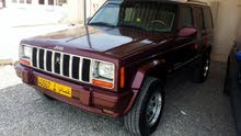 Jeep Cherokee 2001 For sale - Maroon color