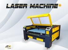 ماكينة ليزر قطع اخشاب وجلود للبيع