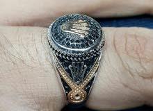 خاتم رجالي فضة