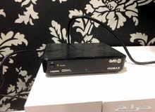 ريسيفر هيوماكس بحالة الجديد معه اشتراك 6 اشهر OSN HD