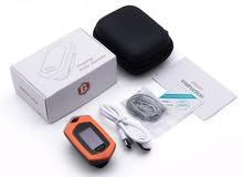 جهازpulse oximeter فحص نبض القلب والاكسجين بالدم وتخطيط القلب تم شحنه بواسطه شاحن (rechargeable )