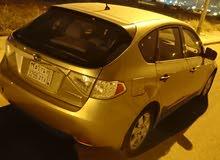Used condition Subaru Impreza 2008 with +200,000 km mileage