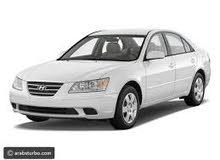 (مطلوب سياره سوناتا 2004 - 2009 أربعة بسطون جير عادي بترول بسعر معقول