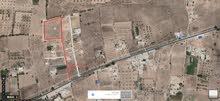 نصف هكتار للبيع في منطقة النهضة, طريق الاذاعة 1ك من مثلث النهضة