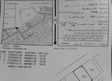 ارض سكنيه صحار ملتقى جديده موقعها ممتاز قريب شارع خلف محلات كويتي بشارع نزهه