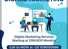 Digital Marketing and SEO services in Egypt