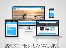 تصميم وبرمجة موقع ويب لشركتك