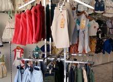 بيع محل مستلزمات وملابس وأحذية  أطفال