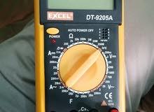 اوف ميتر جديد كرت كرتونه بقيس جميع لنواع القياسات الكهربائيه و الالكترونيه
