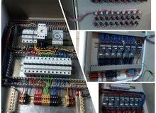 تصميم وتنفيذ لوحات كهربائية وورش كهرباء
