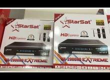 للبيع رسيفرات starsat 2000 HD extreme