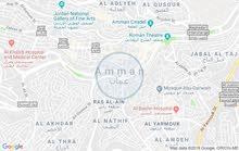 ارض للبيع مقابل أمانة عمان  604متر عمق 30متر وجهه علي الشارع 24 متر
