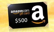 بطاقة أمازون gift card للبيع