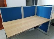 مكاتب للبيع ودواليب خشب درجه اولى